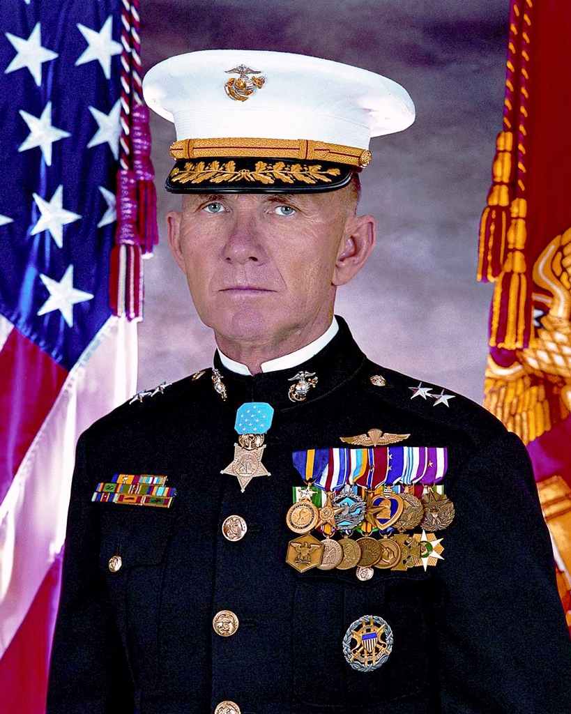 MAJOR GENERAL JAMES EVERETTE LIVINGSTON, MOH, USMC (Ret)